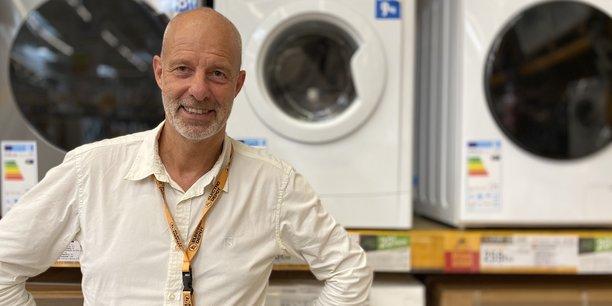 Stéphane Belot, directeur de la transition écologique et sociétale chez Electro Depôt.