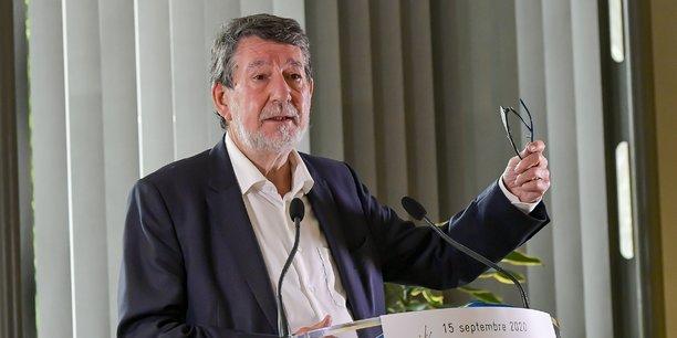 Alain Anziani, le président de Bordeaux Métropole, annonce une batterie de mesures de soutien aux entreprises qui seront débattues par les élus fin novembre.