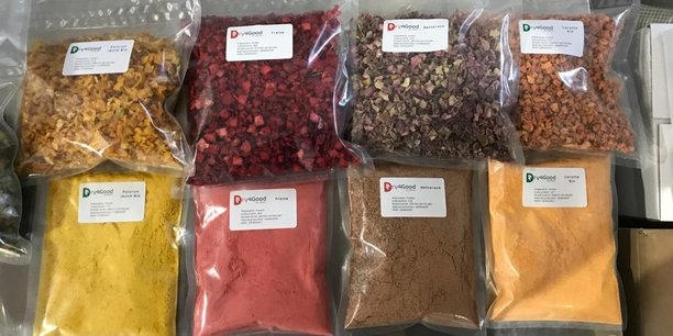 Dry4Good déshydrate déjà une vingtaine d'ingrédients : des fruits et des légumes, des aromates et des champignons.
