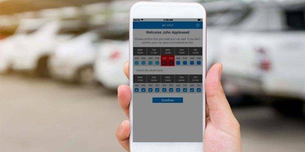 L'application Sharvy permet une gestion intelligente des places de parking d'entreprises, des bureaux ou des restaurant d'entreprises.