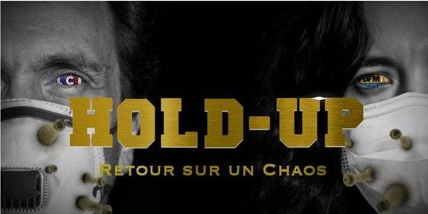 L'affiche du film français Hold-Up, qui affole les réseaux sociaux depuis la semaine dernière.
