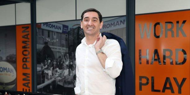 Roland Gomez, directeur général de l'entreprise indépendante capitalistiquement, n°4 européen de l'intérim et n°3 français.