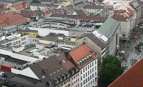 Munich, en Bavière. La Bavière est le Land le plus riche d'Allemagne.