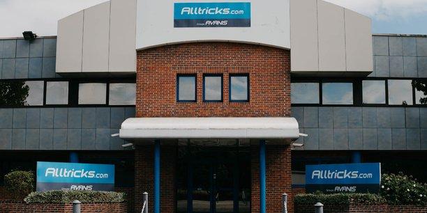 Alltricks.com, ici le siège de Châteaudun, fera plus que doubler ses capacités logistiques en 2022.
