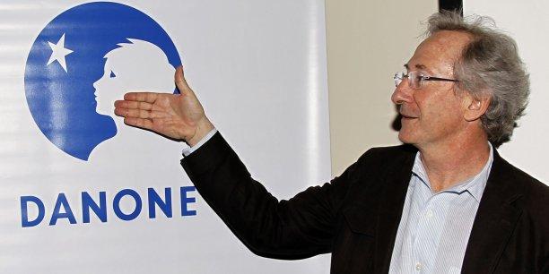 Franck Riboud est devenu PDG de Danone en 1996.
