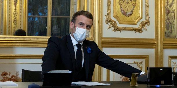 Emmanuel Macron esquisse un déconfinement en trois étapes