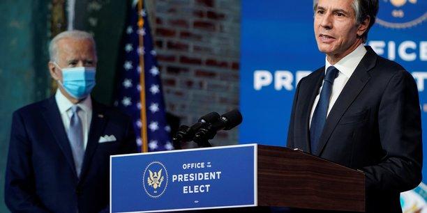 Biden promet de rompre avec l'unilateralisme de trump[reuters.com]