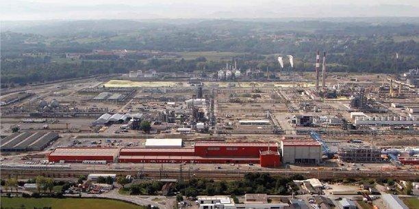 L'usine de Toray CFE à Abidos
