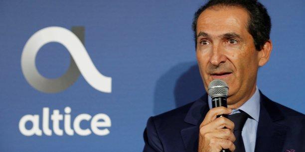 Patrick Drahi, le fondateur et propriétaire d'Altice Europe, la maison-mère de SFR.