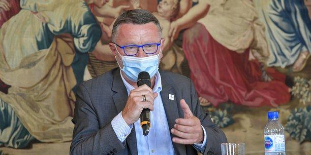 Patrick Seguin, le président de la CCI Bordeaux Gironde, au mois de septembre 2020.
