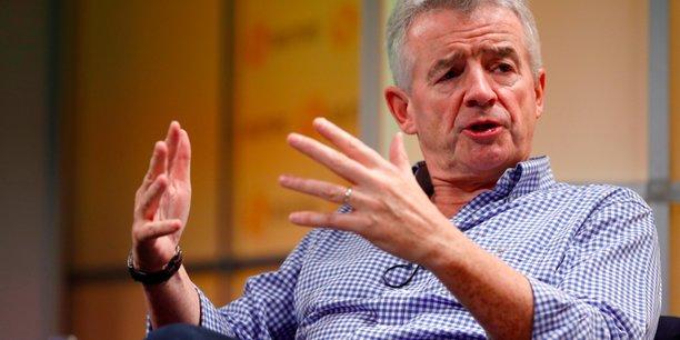 Michael O'Leary, directeur général du groupe Ryanair