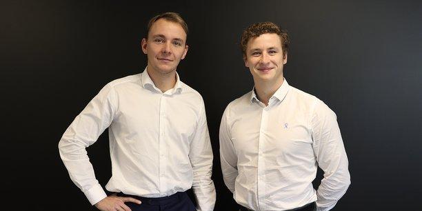Guillaume Legrand et Mathieu Mouton, fondateurs d'eKonsililo.