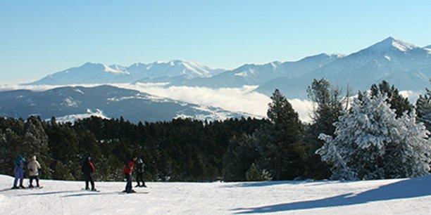 La station de sports d'hiver de Font-Romeu/Pyrénées 2000 craint un manque à gagner de 30 à 35% de chiffre d'affaires si elle n'ouvre qu'en janvier 2021.