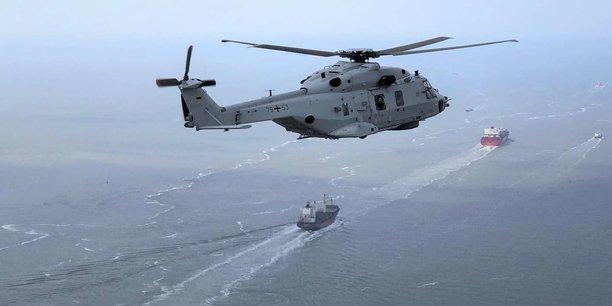 Le Sea Tiger multi-rôle e la marine allemande est principalement conçu et équipé pour les tâches de combat