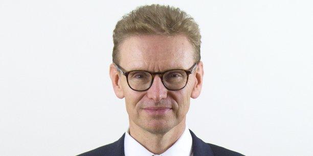 Jacques Baudoz, PDG de Joué Club, dont le siège social est basé à Bordeaux.