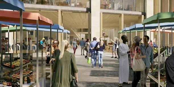 Paris Porte de Montreuil : Nexity (mandataire), ENGIE, Crédit Agricole Immobilier (promoteurs), Atelier georges; Tatiana Bilbao Estudio; Serie architects; Bond Society (Architectes)