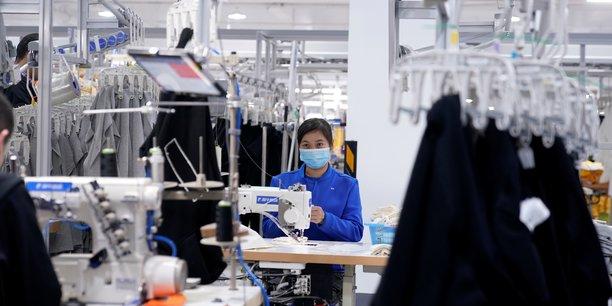 Chine: progression record de l'activite manufacturiere en 10 ans, selon caixin[reuters.com]