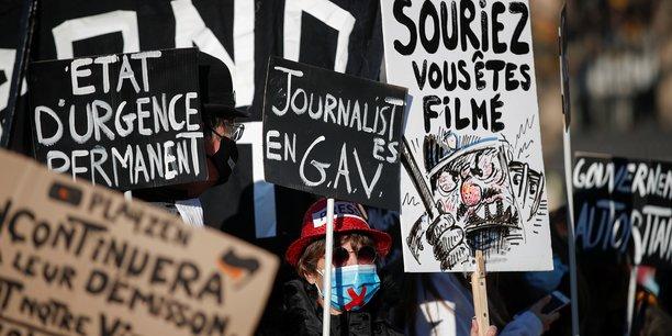 France: manifestation prevue samedi contre le projet de loi securite globale[reuters.com]