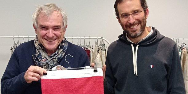 Eric Boël et Antoine Saint-Pierre comptent sur leurs sacs de caisse en tissu recyclé pour booster la croissance de LTC.