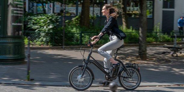 Photo d'illustration. Avec le Covid-19 et les grèves massives dans les transports il y a un an, la pratique du vélo a augmenté.