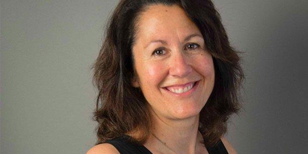 Sandrine Mathon est la nouvelle présidente de coopérative d'entrepreneurs Crealead à Montpellier.