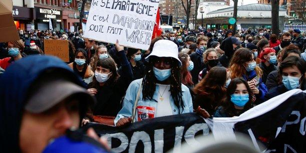 France: nouvelles manifestations contre la loi securite globale[reuters.com]