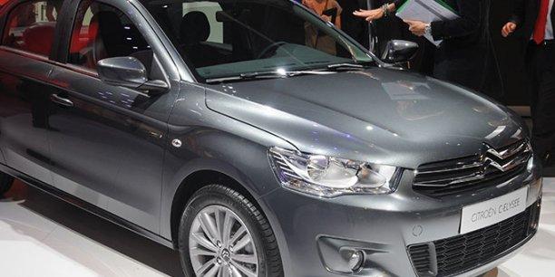 La Citroën C-Elysée s'adresse aux pays émergents