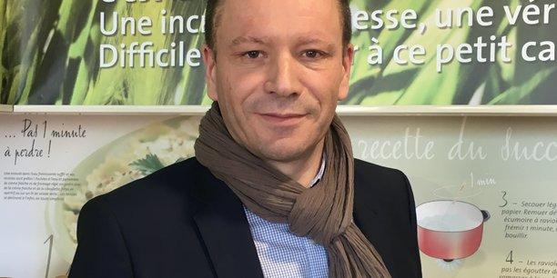 Nous mettons le curseur haut en matière de Made in France. Notre volonté est d'intégrer le plus possible d'ingrédients français, et même d'ingrédients drômois. Guillaume Blanloeil, directeur général de Saint Jean. (Photo DR)
