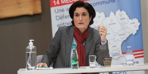 Sophie Garcia est aussi membre du comité directeur du Medef national, aux côtés de son président Geoffroy Roux de Bézieux.