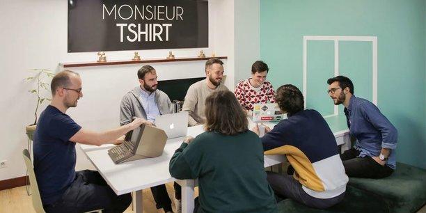 Fondée en 2013 et basé à Lormont (Gironde), Monsieur Tshirt a écoulé 500.000 pièces en 2020, à 70 % via son site internet.