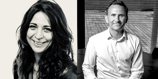 Virginie Bruguès et Matthias Bauland, respectivement future directrice du campus montpelliérain et directeur général adjoint de MediaSchool.