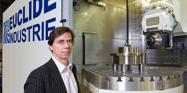 Jean-Marie Jacquet est le président d'Euclide Industrie, dont la PME Mécanat, basée à Brive (Corrèze), est une filiale.