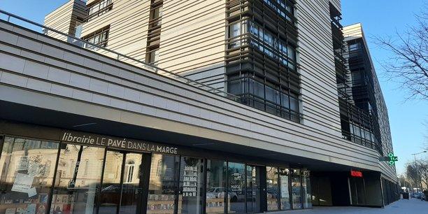 Pour rendre possible l'installation de cette librairie indépendante, la ville prend en charge une partie du loyer.