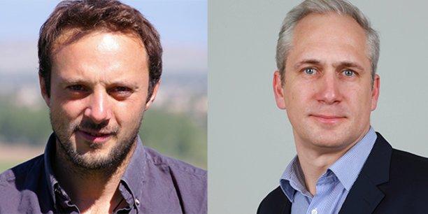 Alexandre Guillemot, président Deepbloo, et Stanislas Drouin, DG et CTO.