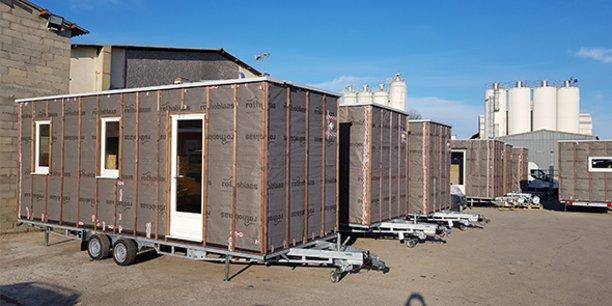 Selvea termine la conception et la fabrication de 16 tiny-houses qui seront livrées en février à collectivité qui proposera d'y héberger des sans-abris.