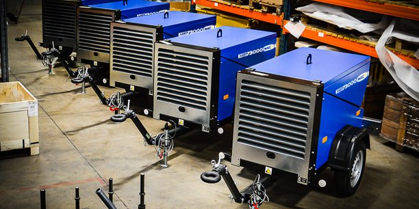 Pour Christelle Linossier, produire en France des compresseurs d'air et des outils pneumatiques est parfaitement viable. Elle en fait même la démonstration en renforçant sa stratégie à l'export.