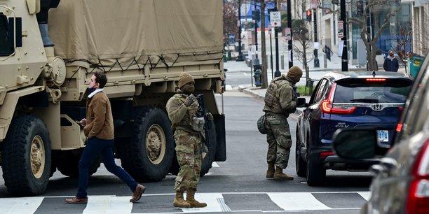 Washington se barricade avant l'investiture de joe biden[reuters.com]