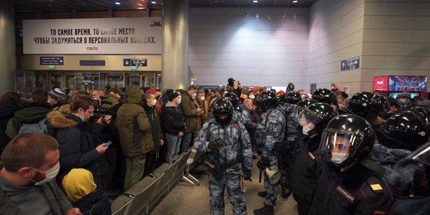 L'opposant alexei navalny atterrit a moscou[reuters.com]