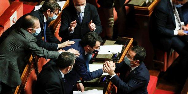 Italie: le gouvernement conte obtient la confiance du senat[reuters.com]