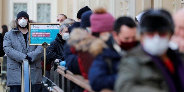 La russie enregistre 21.152 nouvelles contaminations au coronavirus[reuters.com]