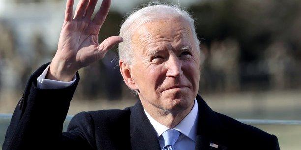 Joe biden celebre la victoire de la democratie dans son discours d'investiture[reuters.com]
