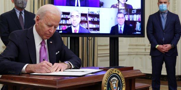 Biden souhaite une quarantaine pour les voyageurs internationaux arrivant aux usa[reuters.com]