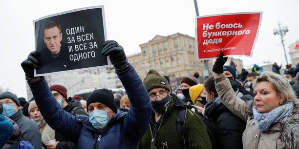 Russie: plus de 350 personnes arretees dans des manifestations soutenant alexei navalny[reuters.com]