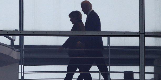 Merkel et biden sont convenus de renforcer la cooperation transatlantique[reuters.com]