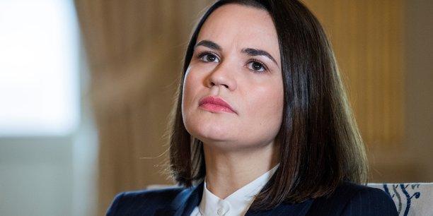 Bielorussie: l'opposante tsikhanouskaia reclame a l'ue de nouvelles sanctions[reuters.com]