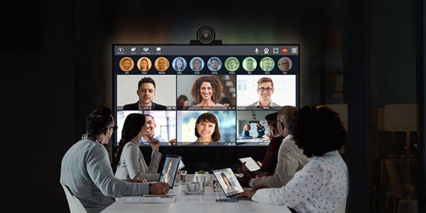 Tixeo développe des solutions de visioconférence sécurisées, favorisant le télétravail.