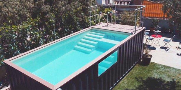 Dans les Pyrénées-Orientales, Lokicool est spécialisée dans la conception de piscines à base de conteneurs.