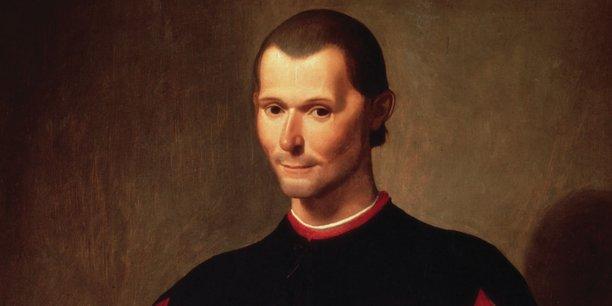 Portrait de Niccolò Machiavelli par Santi di Tito.
