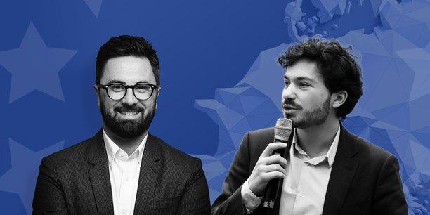 De gauche à droite, Arno Pons et Nicolas Brien.