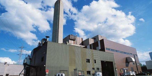 L'incinérateur de Cenon, à Bordeaux Métropole